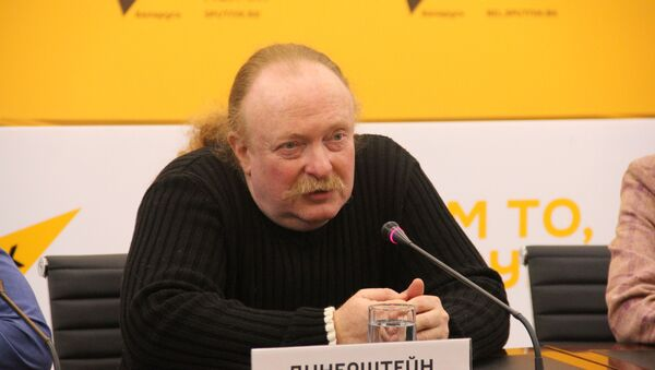 Прадзюсар сямейнага інклюзія-тэатра i Леанід Дзінерштэйн - Sputnik Беларусь