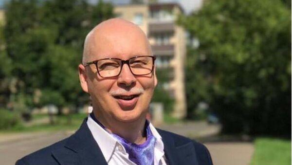 Журналист, медиа-консультант Александр Зимовский - Sputnik Беларусь