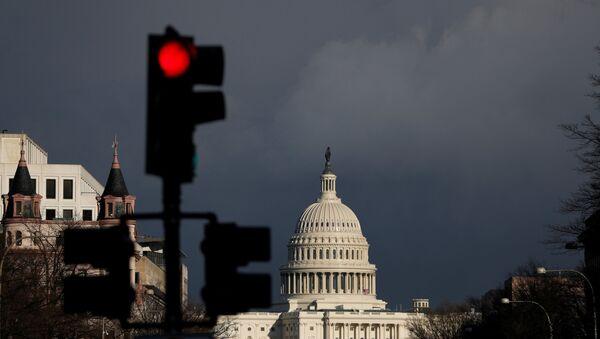 Вид на Белый дом в Вашингтоне, архивное фото - Sputnik Беларусь