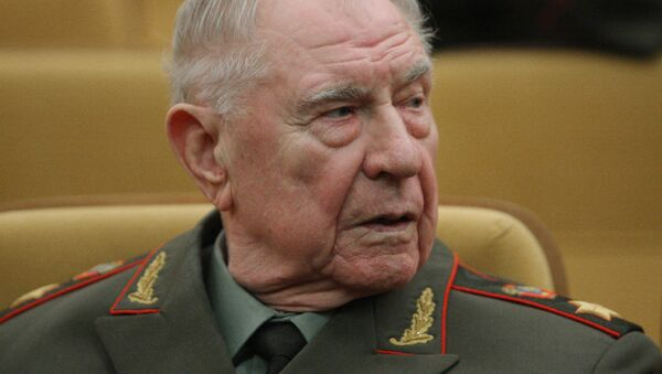 Экс-министр обороны СССР Дмитрий Язов - Sputnik Беларусь