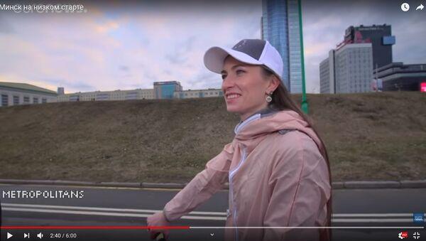 Домрачева и Мисс Беларусь-2018 показали любимые локации Минска - видео - Sputnik Беларусь