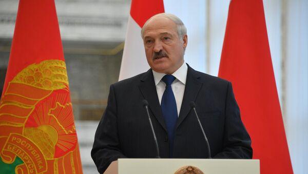 Прэзідэнт Беларусі Аляксандр Лукашэнка - Sputnik Беларусь