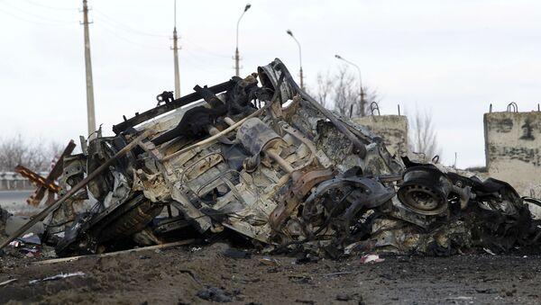 Взрыв в Донбассе - Sputnik Беларусь