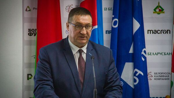 Владимир Базанов на безальтернативной основе избран председателем Белорусской федерации футбола - Sputnik Беларусь