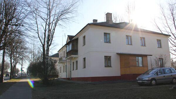 Двухэтажки на Железнодорожной построили после войны - Sputnik Беларусь