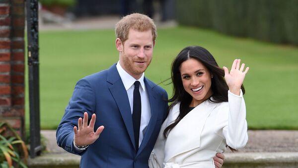 Принц Гарри и его супруга Меган Маркл  - Sputnik Беларусь