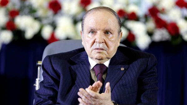 Алжирский президент Абдельазиз Бутефлика - Sputnik Беларусь