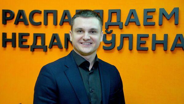 Начальник управления фонда Дирекция II Европейских игр 2019 Виталий Аблам  - Sputnik Беларусь