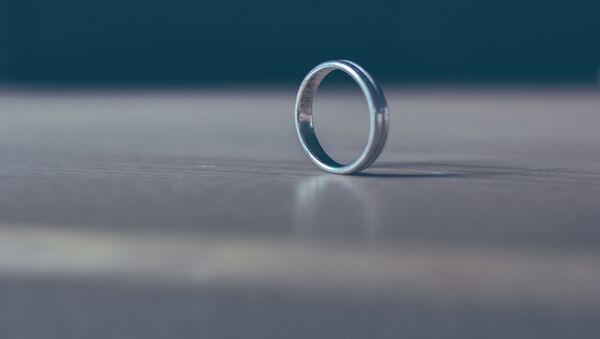 Обручальное кольцо, архивное фото - Sputnik Беларусь