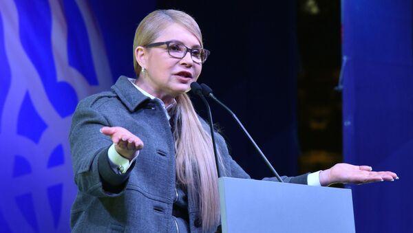 Кандидат в президенты Украины Юлия Тимошенко - Sputnik Беларусь
