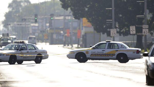 Машины полиции в Чикаго - Sputnik Беларусь