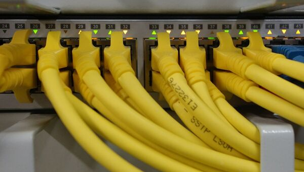 Сеткавыя кабелі, архіўнае фота - Sputnik Беларусь