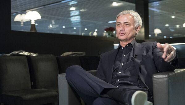 Португальский футбольный тренер Жозе Моуринью - Sputnik Беларусь