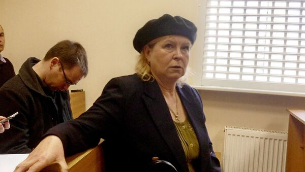 Светлана Коржич в зале суда - Sputnik Беларусь