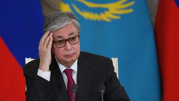 Президент Казахстана Касым-Жомарт Токаев - Sputnik Беларусь