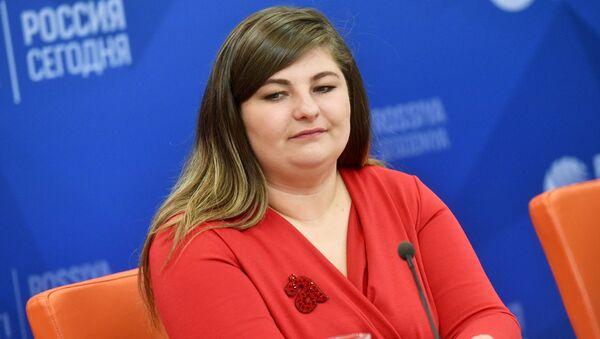 Руководитель фонда Тотальный диктант Ольга Ребковец - Sputnik Беларусь