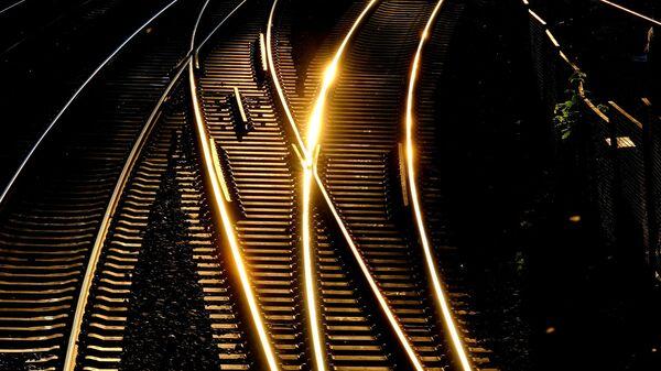 Рельсы, архивное фото - Sputnik Беларусь