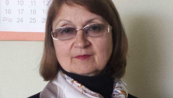 Заведующая отделом научно-исследовательской работы Белорусского государственного музея истории ВОВ Наталья Яцкевич - Sputnik Беларусь