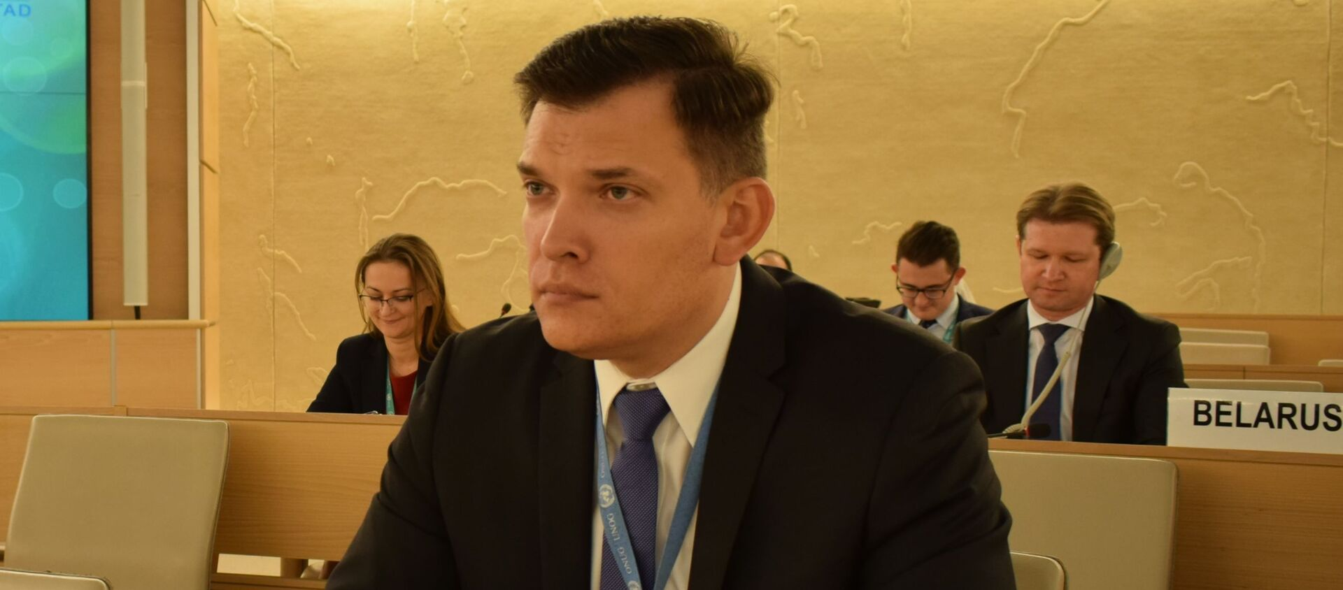 Постоянный представитель Беларуси при отделении ООН в Женеве Юрий Амбразевич  - Sputnik Беларусь, 1920, 17.03.2021