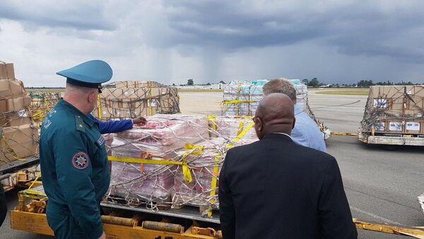 Белорусская гуманитарная помощь в Зимбабве - Sputnik Беларусь