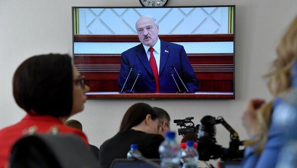 Штогадовае пасланне Лукашэнкі народу і парламенту - Sputnik Беларусь