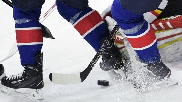 Хоккеисты, архивное фото - Sputnik Беларусь