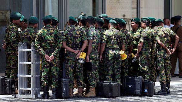 Военные в Шри-Ланке - Sputnik Беларусь