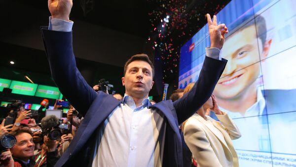Кандидат в президенты Украины Владимир Зеленский - Sputnik Беларусь