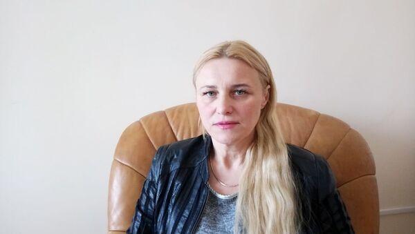 Общественный деятель, лидер украинской политической партии Соборность Наталия Миролюб - Sputnik Беларусь
