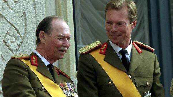 Великий герцог Жан с сыном Анри - Sputnik Беларусь