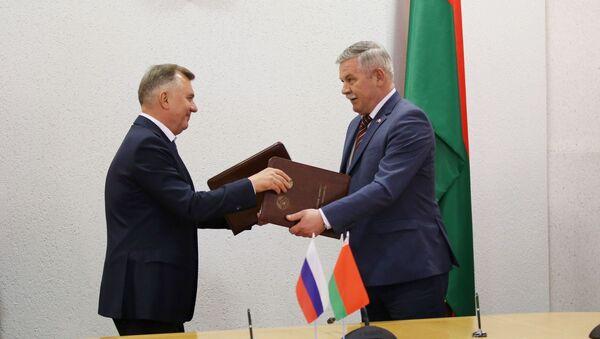 Падпісанне дакументаў у Магілёве - Sputnik Беларусь