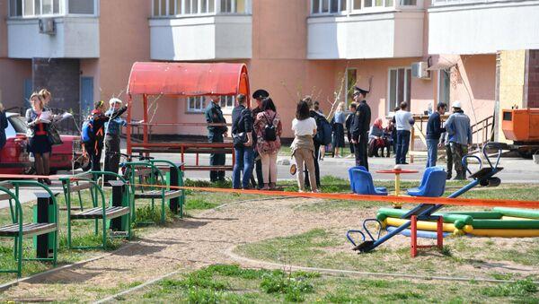Жильцы дома на Широкой, 3 - Sputnik Беларусь