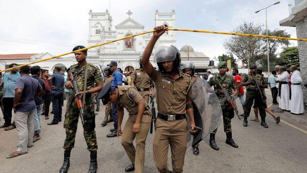 Полиция Шри-Ланки - Sputnik Беларусь