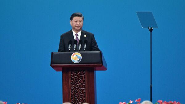 Председатель Китайской народной республики (КНР) Си Цзиньпин  - Sputnik Беларусь