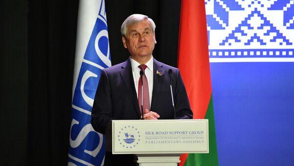 Глава Палаты представителей Национального собрания Беларуси Владимир Андрейченко - Sputnik Беларусь