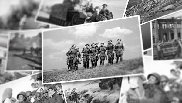 Хроніка вызвалення: унікальныя фатаграфіі Вялікай Айчыннай вайны - Sputnik Беларусь