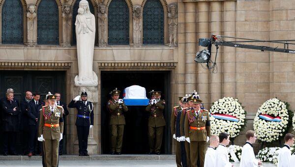 Люксембург провожает в последний путь своего герцого Жана - Sputnik Беларусь