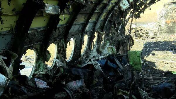 Следственные действия на месте аварийной посадки самолета в аэропорту Шереметьево - Sputnik Беларусь