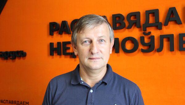 Белорусский общественный деятель, политик и экономист Ярослав Романчук - Sputnik Беларусь