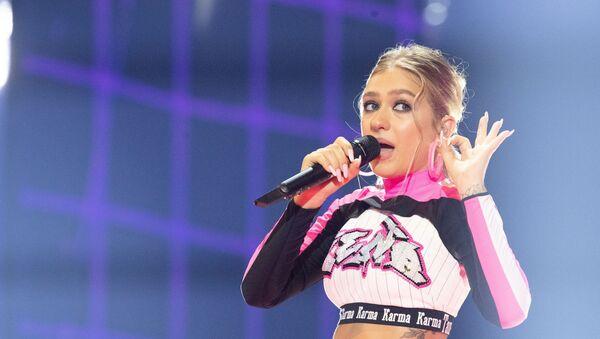 Белорусская участница конкурса песни Евровидение-2019 ЗЕНА  - Sputnik Беларусь