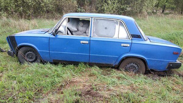 Забитый комбикормом автомобиль - Sputnik Беларусь