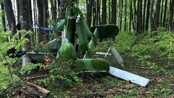 Обломки вертолета, которым управлял белорус, найдены в горах в Румынии - Sputnik Беларусь