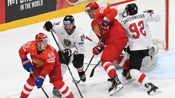 Матч Россия - Австрия на ЧМ-2019 по хоккею - Sputnik Беларусь