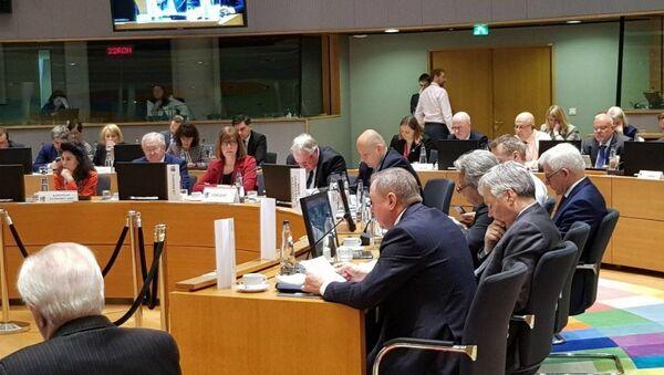 Владимир Макей на саммите Восточного партнерства в Брюсселе - Sputnik Беларусь
