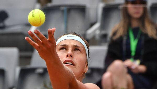 Сабаленка паднялася на 17-е месца ў чэмпіёнскай гонцы WTA - Sputnik Беларусь
