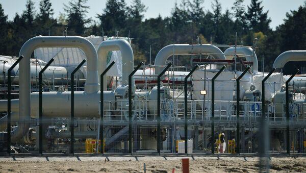 Строительство газопровода Северный поток-2 в Германии - Sputnik Беларусь