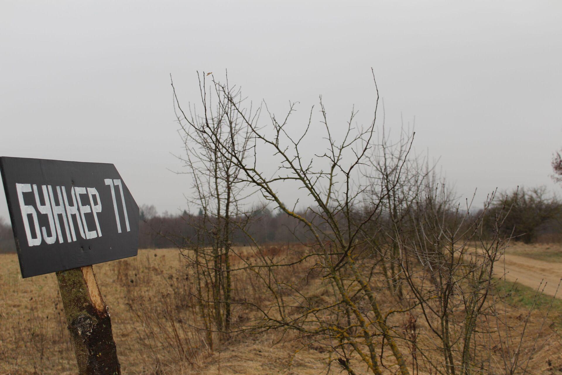 Попасть в Бункер-77 помогут навигатор и указатели на подъезде к объекту - Sputnik Беларусь, 1920, 29.06.2021