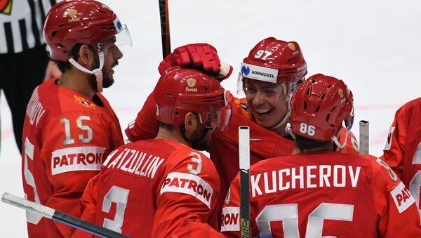 Игроки сборной России по хоккею - Sputnik Беларусь