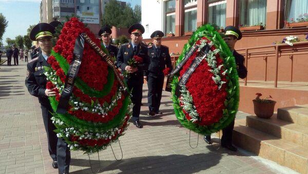 Колонны людей в погонах сменяли одна другую - Sputnik Беларусь