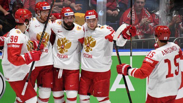 Хоккеисты сборной России на ЧМ в Словакии - Sputnik Беларусь